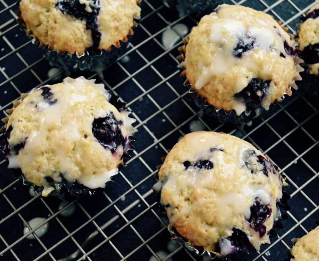 blueberry-lemon-muffins-myvegtable