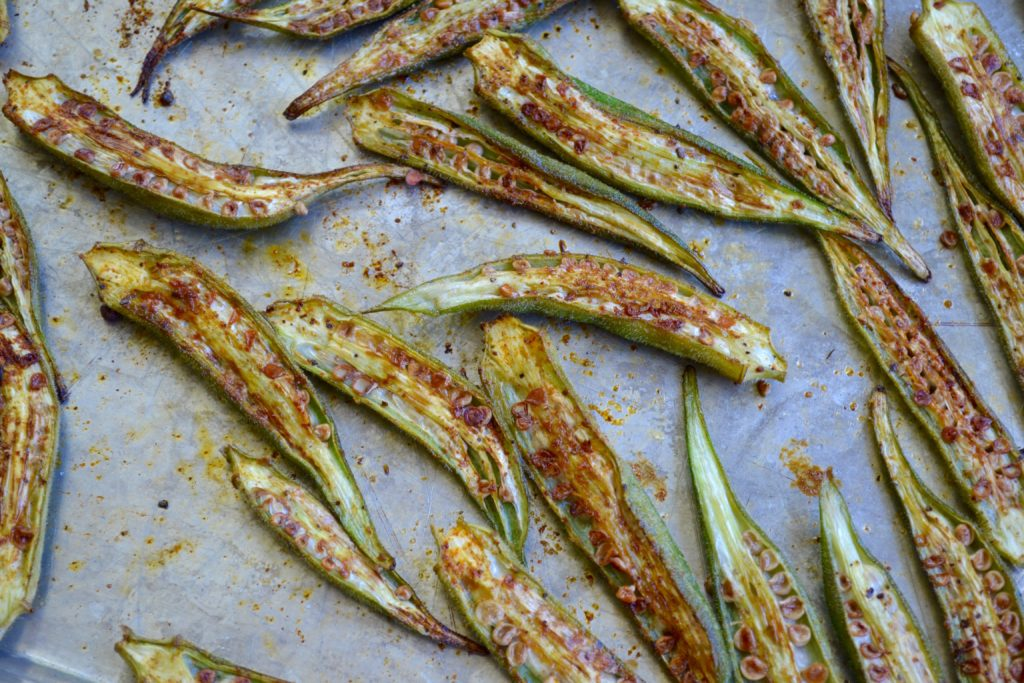 okra-roasted-myvegtable